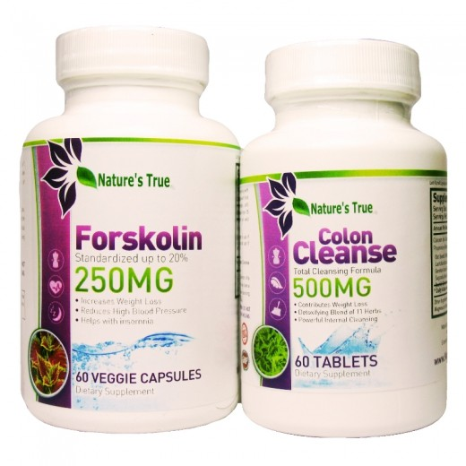 Always Best Forskolin 250 MG & System Sweep Combo Package in Body Maintenance at www.NaturesTrue.com